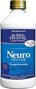 Picture of Buried Treasure Neuro Nectar Memory and Mental Focus Supplement 16 oz