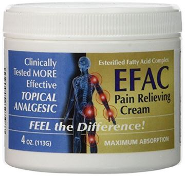 Picture of EFAC Pain Relieving Cream, 4 oz