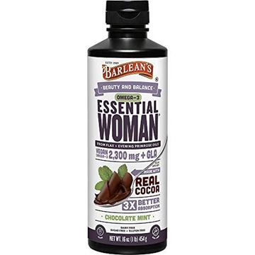 Picture of Barlean's Seriously Delicious Essential Woman, Chocolate Mint, 16-oz