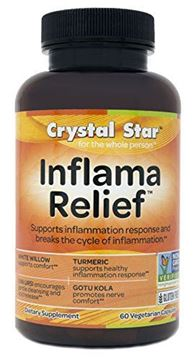 Picture of Crystal Star Inflama Relief Herbal Supplements, 60 Count
