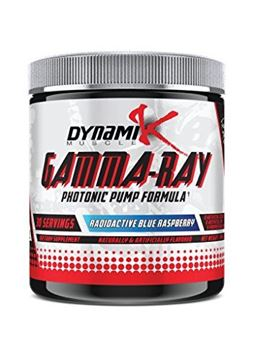 Picture of Dynamik Muscle Gamma-Ray Photonic Pumps, Radioactive Blue Raspberry, 8.46oz