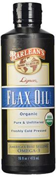 Picture of Barlean's Organic Lignan Flax Oil, 16-oz