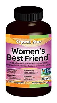 Picture of Crystal Star Women's Best Friend, 90 Vegetarian Capsules