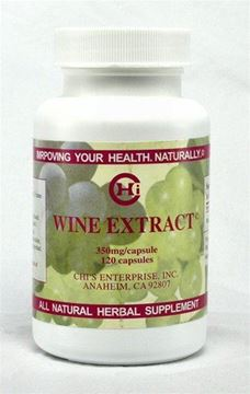 Picture of Chi's Enterprise Wine Extract 120 caps