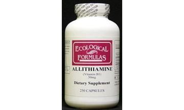 Picture of Ecological Formulas Allithiamine Vitamin B1 Capsule, 50 mg, 250 Count