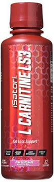 Picture of iSatori L-CARNITINE LS3 Concentrated Liquid Fat Loss/Metabolism Activator - Pink Lemonade 1500mg/32 Servings
