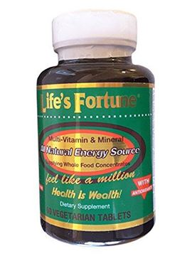 Picture of Life's Fortune® Multi-vitamin & Mineral All Natural Energy Source Supplying Whole Food Concentrates - 60 Tabs