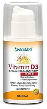 Picture of AnuMed Vitamin D3 Cream 10,000 IU 3 Ounces