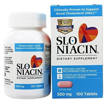 Picture of SLO-NIACIN TABS 500 MG Size: 100