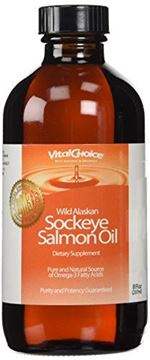 Picture of Vital Choice Liquid Sockeye Oil, 8 Ounce Bottles