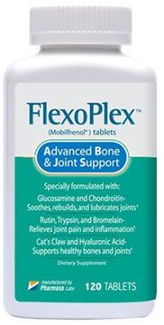 Picture of Flexoplex's Powerful Formula Naturally Rebuilds, Lubricates and Soothes Joints (1)