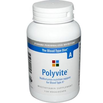 Picture of D'Adamo Personalized Nutrition Polyvite A, 120 Count