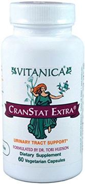 Picture of Vitanica CranStat Extra, Urinary Tract Support, Vegan, 60 Capsules