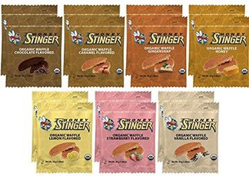 Picture of Honey Stinger Waffle Variety Sampler Pack - 14 Waffles, 2 of Each Flavor