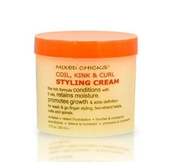 Picture of Mixed Chicks Coil, Kink & Curl Styling Cream, 12 fl. oz.