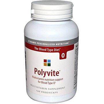 Picture of D'Adamo - Polyvite O 120 vcaps