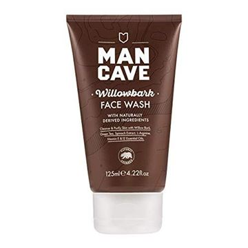 Picture of Mancave Natural Willowbark Face Wash, 5.3 Ounce