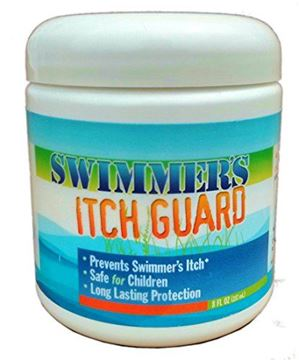 Picture of Swimmers Itch Guard Cream - Prevent Swimmers Itch, Duck Itch, Lake Itch - Repellent, 8 oz