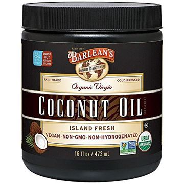 Picture of Barlean's Organic Virgin Coconut Oil, 16-oz
