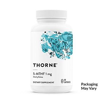 Picture of Thorne Research - 5-MTHF 1 mg Folate - Active Vitamin B9 Folate Supplement - 60 Capsules