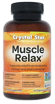 Picture of Crystal Star Muscle Relax, 60 Vegetarian Capsules