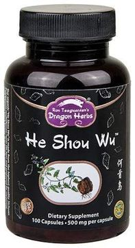 Picture of Dragon Herbs He Shou Wu -- 500 mg - 100 capsules