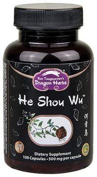 Picture of Dragon Herbs He Shou Wu -- 500 mg - 100 capsules