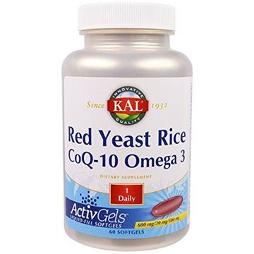 Picture of Kal Red Yeast Rice COQ10 Omega 3, 60 Count