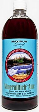 Picture of Maximum Living MineralRich Plus Aloe, 32 fluid ounces