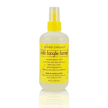 Picture of Mixed Chicks Kids Tangle Tamer - Light and Moisturizing Styling Formula for Frizz-free Curls, 8 fl.oz.