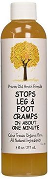 Picture of Caleb Treeze Organic Farms Stops Leg & Foot Cramps, 8 oz