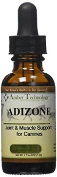 Picture of Amber Technology Adizone All-Natural Anti-Inflammatory Pain Reliever for Dogs, 1 oz