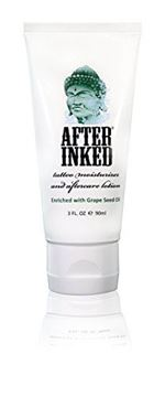 Picture of After Inked Tattoo Moisturizer & Aftercare Lotion 3oz Tube
