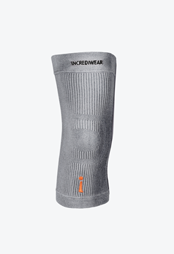 "Picture of Incrediwear Knee Sleeve - Grey - Large (14"" - 16"")"