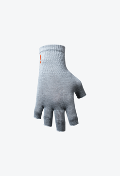 Picture of Incrediwear Fingerless Circulation Gloves - Grey Small/Medium - (3.25 - 4.5)