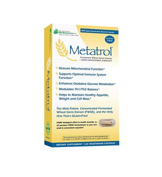 Picture of American BioSciences Metatrol, Mitochondrial Rescue and Daily Immune System Support Fermented Wheat Germ Extract - Super Concentrate, 60 Vegetarian Capsules, 41mg of FWGE-SC per Serving