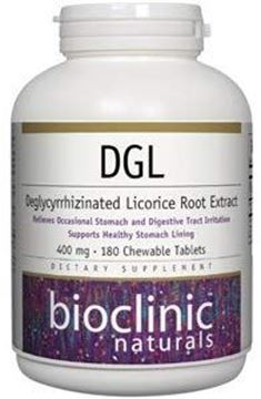Picture of Bioclinic Naturals Dgl 180 Chewable 180 Tabs