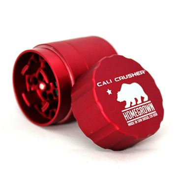 Picture of Cali Crusher Homegrown 4 Piece Pocket Grinder Red