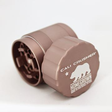 Picture of Cali Crusher Homegrown 4 Piece Pocket Grinder Brown