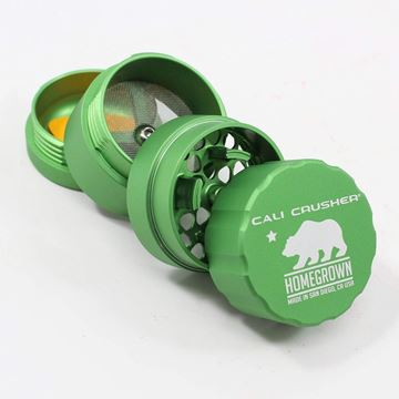 Picture of Cali Crusher Homegrown 4 Piece Pocket Grinder Green