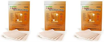 Picture of Golden Sunshine - Pain Terminator Far Infrared Patch - 3 Pack