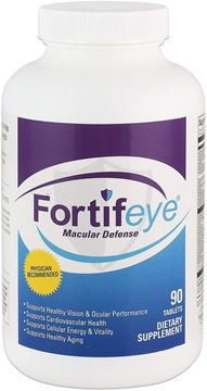 Picture of Fortifeye Vitamins Macular Defense Multivitamin, All Natural USP Verified Total Body & Vision Supplement - 30 Day Supply, 90 Tablets (Regular)