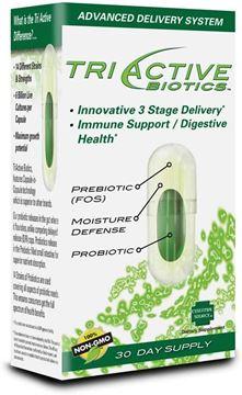 Picture of Essential Source TriActive Biotics, Prebiotoc, Probiotic Vegetarian Capsules, 30 Count