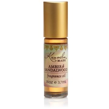 Picture of Kuumba Made Amber & Sandalwood Fragrance Oil Roll-On .125 Oz / 3.7 ml (1-Unit)