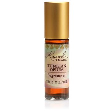 Picture of Kuumba Made Tunisian Opium Fragrance Oil Roll-On .125 Oz / 3.7 ml (1-Unit)