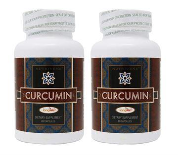 Picture of 2-Pack Curcumin Longvida by Nutrivene (500 mg, 60 capsules)