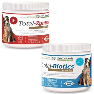 Picture of Original Total-digestion Twin Pack One Total-biotics One Total-zymes 228gm Each