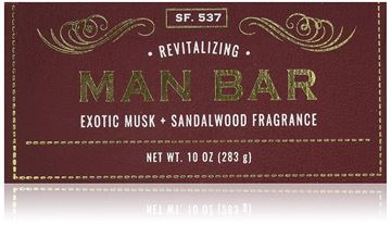 Picture of San Francisco Soap Company Revitalizing Man Bar, Exotic Musk & Sandalwood, 10 Ounce