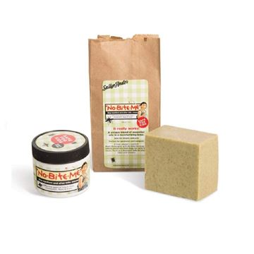 Picture of Bundle of 2 SallyeAnder Products - No-Bite-Me Soap and Creme - Deet-Free - All Natural, Kid Safe