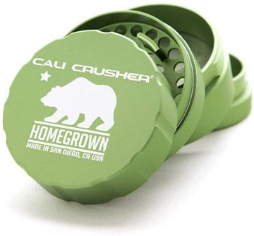 Picture of Cali Crusher Homegrown 4 Piece Grinder Green